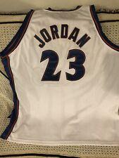 Michael Jordan Wizards Authentic Throwback Nike NBA BASKETBALL JERSEY Sz 60