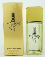 1 Million by Paco Rabanne, 3.4 oz After Shave Lotion for Men NEW