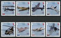 Isle of Man IOM 2018 MNH RAF Royal Air Force Spitfire 8v Set Aviation Stamps