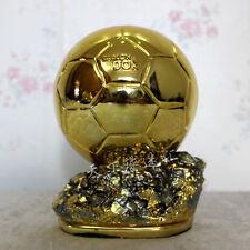 Ballon D'OR Trophy  Resin Golden Ball Award world cup FIFA World 20cm