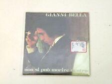 GIANNI BELLA - NON SI PUO' MORIRE DENTR - RARO CD SINGOLO CARDBOARD NUOVO/NEW