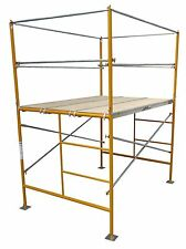 5' Stationary Tower w Basic Safety Rails - 5' Scaffold Tower