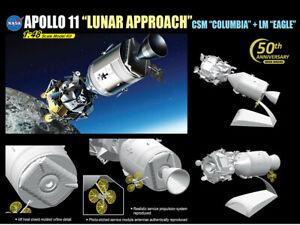 DRAGON 11009 Apollo 11 Lunar Approach CSM Columbia + LM Eagle