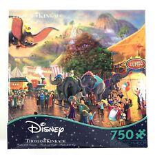 Disney Dumbo Thomas Kinkade Ceaco 750 Piece Jigsaw Puzzle USA