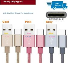 Type C USB-C Sync Charger Charging Cable Lead For Huawei P20 / Lite / Pro /S8/S9