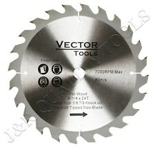 "8-1/4"" x 24T Carbide Tipped Saw Blade"