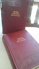 THE NEW CENTURY DICTIONARY OF THE ENGLISH LANGUAGE 1942 SET OF 2