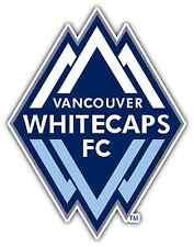 "Vancouver Whitecaps FC MLS Football Soccer Car Bumper Vinyl Sticker Decal 4""X5"""