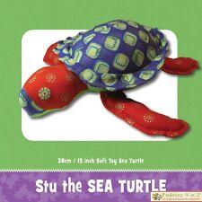 Sea Turtle - Softie Toy SEWING PATTERN Funky Friends Factory - Fabrics4u2