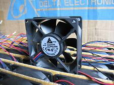 Delta AFB0812SH-F00 80mm x 25mm-3pin TAC Sensor 46.62cfm DC 12V Server/Case Fan