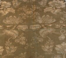 """Antique 18thC (c1700) French Silk Home Textile Fabric~25""""L X 17""""W"""