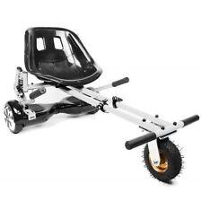 White Suspension Original HoverKart Convert Hoverboard into Go Karts