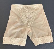 Vintage Size L 29/30 Bali Girdle Petti Pants Mid Panel Lace 8353 Sissy off blush