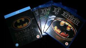 Batman The Motion Picture Anthology Batman/Returns/Forever/Robin RegionB Blu-ray