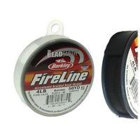 FireLine Braid Bead Thread Size B .005 50yd Smoke Gray 41447 Beadsmith