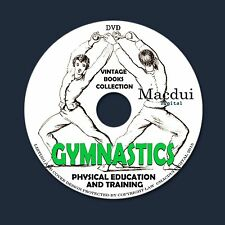 Gymnastics Vintage Books Collection 91 PDF E-Books 1 DVD Indian Club,Calisthenic