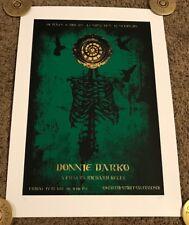 2010 David O'Daniel Poster - Donnie Darko, Signed, #'d 66/67, Castro