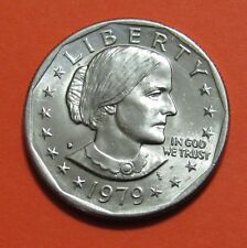 1979-D $1 Susan B. Anthony Dollar Coin - Uncirculated from Mint Roll