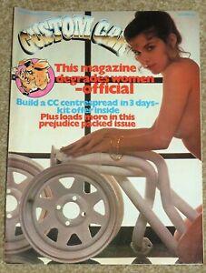 CUSTOM CAR Magazine June 1982 - CAPRI 2.8i - 1937 FORD - 1940 FORD PICKUP - MINI