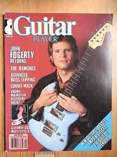 Guitar Player Magazine - Apr 1985 Ramones John Fogerty Malmsteen  ++