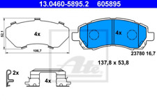 Bremsbelagsatz, Scheibenbremse für Bremsanlage Vorderachse ATE 13.0460-5895.2