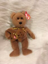 Ty Signature Bear And Baby w Tag 2005