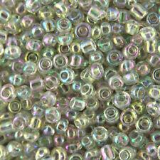 Perline sfuse di perla trasparenti