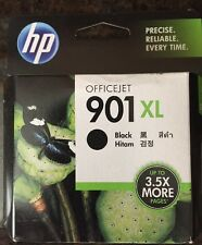 NEW NIB HP 901 XL BLACK INK CARTRIDGE FACTORY SEALED Does not expire til 01/2018