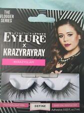 Eylure Krazyrayray eye Lashes Define with Eyelash Glue Krazyglam