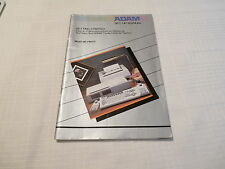 Coleco Adam Set Up Manual Getting Started Manual Only
