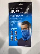 Mission Cooling Neck Gaiter - Blue