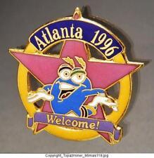 OLYMPIC PINS 1996 ATLANTA  MASCOT IZZY STAR LOGO