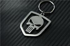 For Dodge PUNISHER keychain keyring VIPER CHARGER CHALLANGER DURANGO SRT HEMI