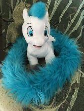 Disney Parks Pegasus From Hercules Long Tail Plush Doll Boa Scarf