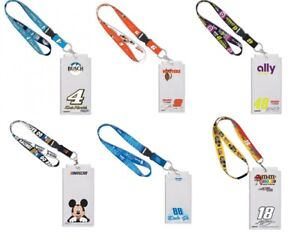 NASCAR Credential Holder with Lanyard