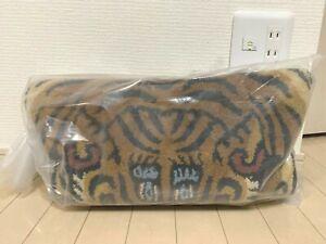 Tibetan Tiger Rug DTTR-01 M size W75XD130XH1.8cm Blue New