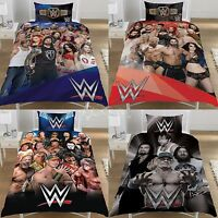 WWE Superstars Official Single / Double Duvet Cover Bed Set New Gift 6 Designs
