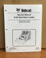 Bobcat S185 Skid Steer Loader Service Manual Shop Repair Book 6987049