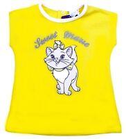 Disney Marie Cat Baby Body Bodydress Katze Neu Gelb//Weiß//Rosa Kinderbody