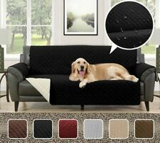 Waterproof Quilted Sofa Covers Anti-Slip Armchairs Couch Recliners Slipcovers