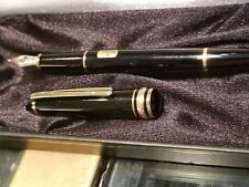 montblanc 144 fountain pen excellent condition