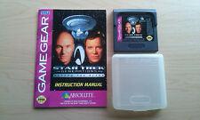 SEGA Game Gear : Star Trek Generations – Beyond the Nexus (with Instructions!)