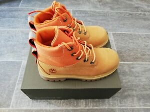Timberland BNIB Wheat Nubuck 6in Premium Boots Toddler/Child UK 11.5