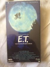 1988 Vintage E.T. The Extra-Terrestrial VHS Tape 77012 Brand New Sealed