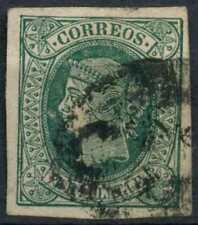 Puerto Rico 1864 SG#15, 1/2R Green Used #E10787