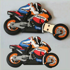 HOT Pen Drive USB 2.0 8GB U Disk Gift Flash Stick Memory Cartoon Motorcycle Race