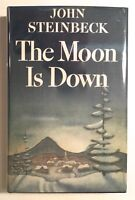 The Moon is Down John Steinbeck 1st Edition 2nd Issue 1942 Hardcover War Story