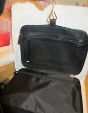 100% Genuine CDior Parfums Toiletry Hanging Kit Wash Travel Bag in Black