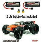 COMBO Team CORALLY V2 1/8 Dementor W/ 2 3S LIPO BATTERIES XP 4WD Brushless TRUCK