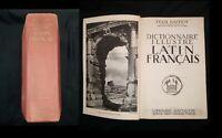 Félix Gaffiot Dictionnaire illustré Latin-Français Librairie Hachette 1934